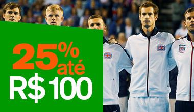 Promoção Copa Davis!